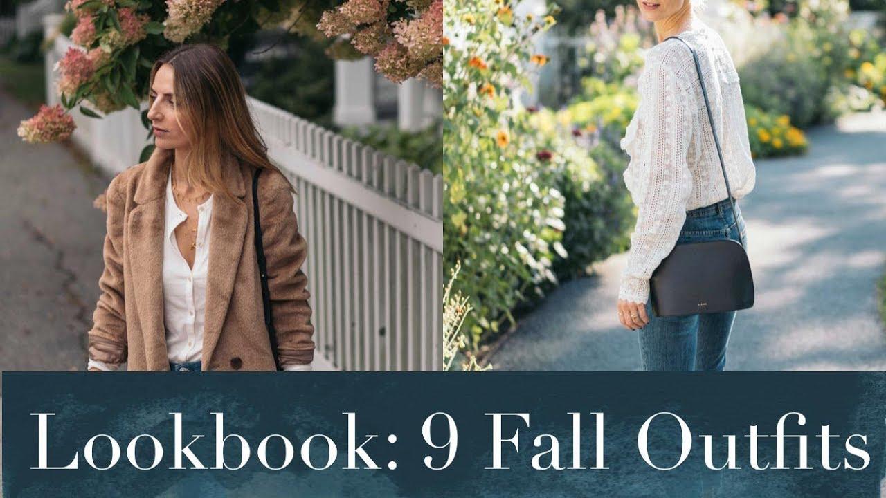 3 Pants 3 Ways | 9 Outfits for Fall - Sezane, Aritzia, Chloe 4