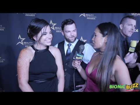 Laura Zerra & Steven Hall from Naked and Afraid Interview at the RTVAs