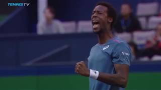 Gael Monfils Wins Incredible Lung-Busting Rally! | Shanghai 2018