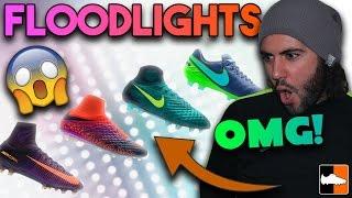 Nike floodlights pack - insane new superfly, magista, hypervenom & tiempo soccer cleats