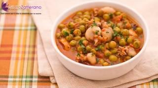 Cuttlefish With Peas ( Seppie E Piselli ) - Original Italian Recipe