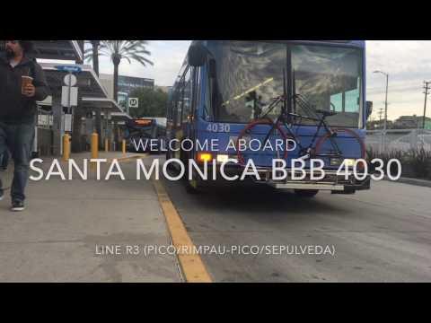 (RETIRED) Santa Monica Big Blue Bus 2002 NABI 40-LFW LNG #4030 | Coin Lloyd's Transit Hub