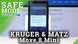 How to Enable Safe Mode in Kruger & Matz MOVE 8 Mini - Boot into Safe Mode