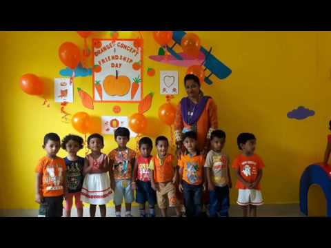 Orange Colour day Celebrations @ Irisflorets AS Rao Nagar on 05th Aug 2016
