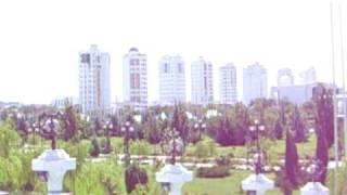 Turkmenistan. Ashgabat. Ашгабат.AVI
