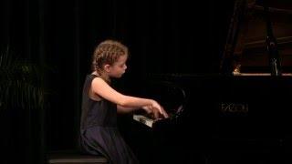Claude Debussy - The Little Shepherd, / Leticie Krotka (11.y) on Fazioli Grand Piano