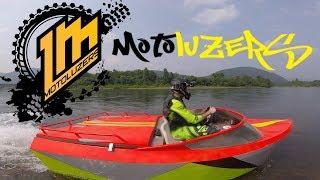Фото Motoluzers   водомет по мане. Красноярск
