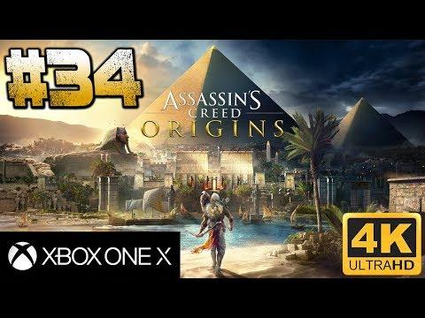 Assassin's Creed Origins I Capítulo 34 I Let's Play sin comentarios I XboxOneX I 4K
