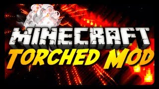 Minecraft Mod Review: THE TORCHED MOD! (Guns, Flares & More!)