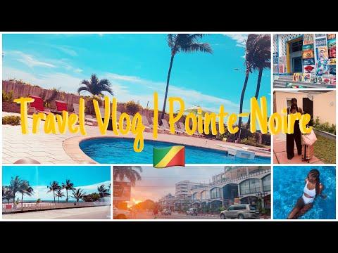 Travel Vlog Pointe-Noire 🇨🇬 || Escapade en plein Coronavirus