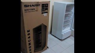 Showcase Kuat dan Tahan Lama Sharp Showcase, Recomended For  Home Industri