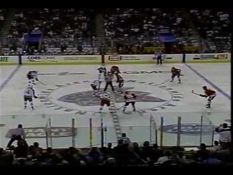Columbus Blue Jackets Inaugural Game vs Chicago Blackahwks - YouTube