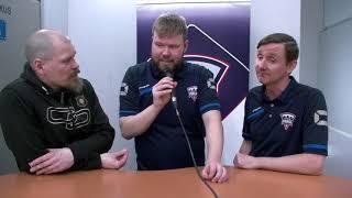Pirkat-Merikoski SBT 8.4.2018: Elite Saunojen Jälkilöylyissä päävalmentajat