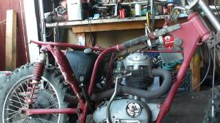 1967 bsa b44 round barrel