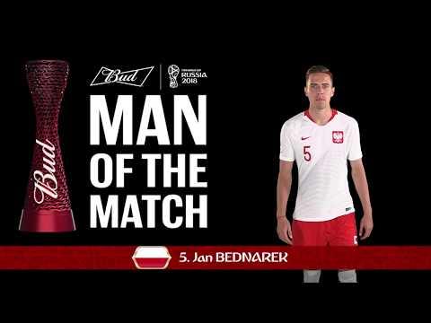 Jan BEDNAREK (Poland) - Man of the Match - MATCH 47