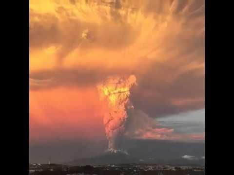 Chile volcano eruption 2015