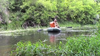 Сплав по реке Медведица , 29 дней одиночного плавания ( 1 ЧАСТЬ )