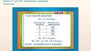Cпособы решения задач.3-5 класс