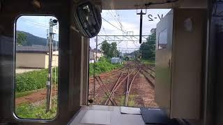 20180715 えちごときめき鉄道二本木駅 スイッチバック