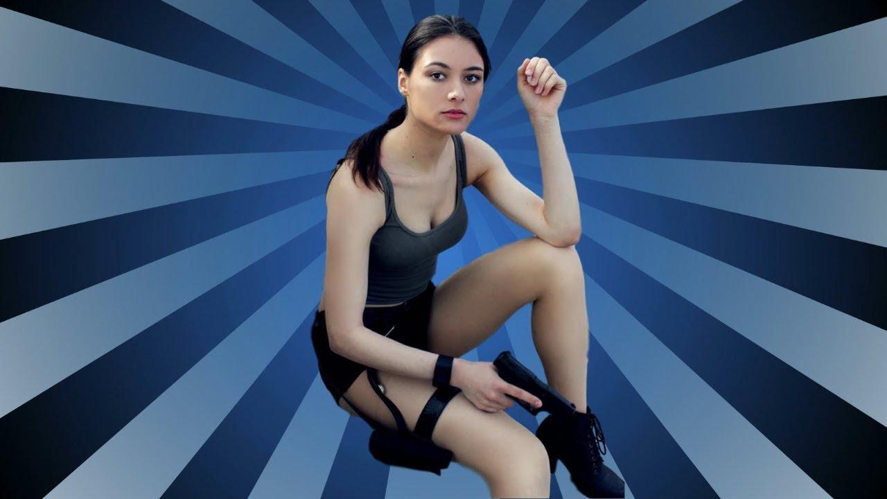 Carolin Matthie - Bewaffnetes AfD-Model