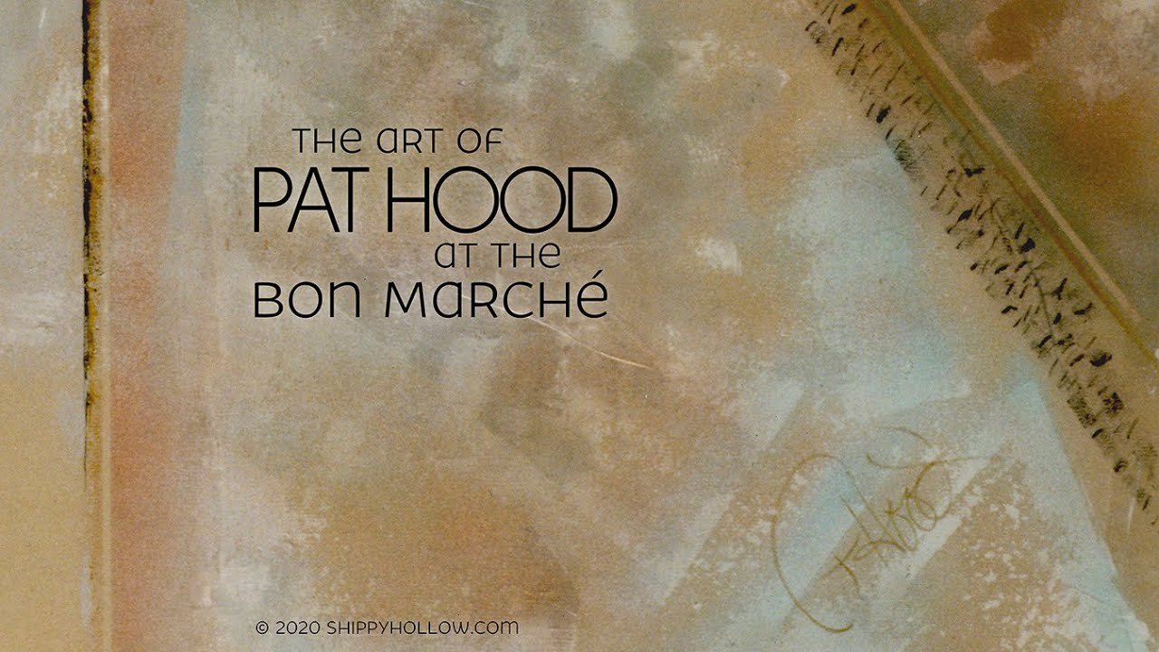 The Art of Pat Hood at the Bon Marche