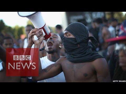 Michael Brown Shooting: How black and white America view Ferguson - BBC News