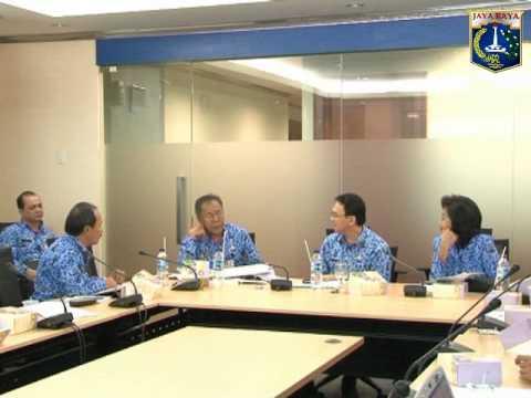 29 Nov 2012 Wagub menerima paparan BPMP & Dinas Tata Ruang Provinsi DKI Jakarta