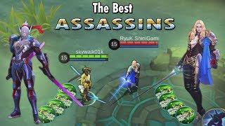 Saber VS Lancelot Full Blade Of Despair Siapakah Assassin Terkuat Mobile Legends