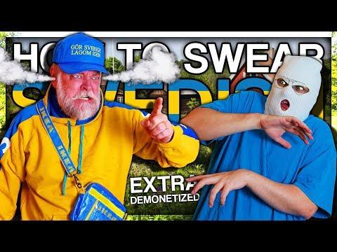 HOW TO SWEAR IN SWEDISH (EXTRA DEMONETIZED)