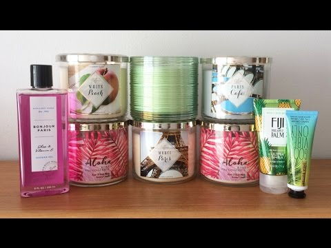 Paris Collection & Spring Haul - Bath & Body Works, White Barn Candle