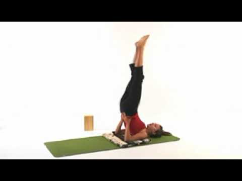 yoga pose guide for shoulder stand  youtube