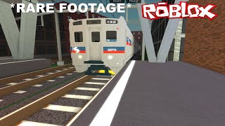 [ROBLOX] *RARE* SEPTA Silverliner IV on test passing Northwell, arriving and departing Linshire