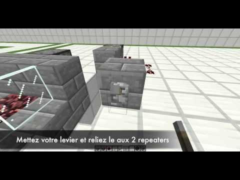 Cheminée Automatique Améliorée | Tuto Minecraft