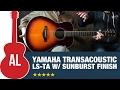 Gambar cover Yamaha LS-TA TransAcoustic with Sunburst Finish