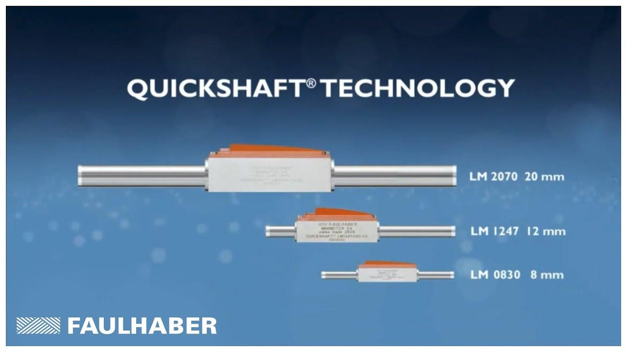 Linear Dc Servo Motors Quickshaft Technology Youtube Motor Tutorial Control Basics Working Of