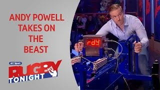 Andy Powell takes on The Beast | Rugby Tonight