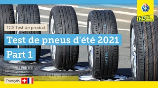 TCS test de pneus d'été 2021 - Part 1