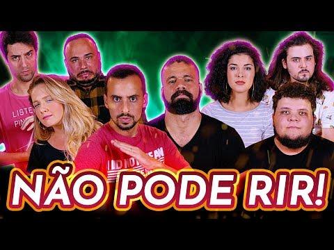 NÃO PODE RIR com Giovana Fagundes Júnior Chicó Victor Ahmar e Lucas Cunha