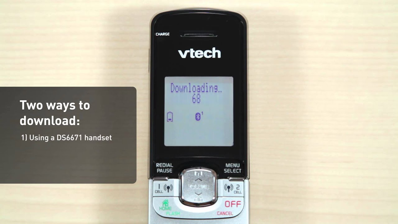 Vtech Connect To Cell Phone Systems Vtech Cordless Phones