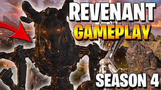 SEASON 4 REVENANT GAMEPLAY - NEW SNIPER & 99 SKIN! (Apex Legends)