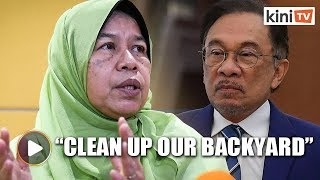 Zuraida disappointed with party's direction