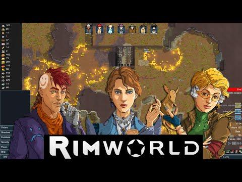 Rimworld 2 - Dally:  Can't Shoot, Won't Haul
