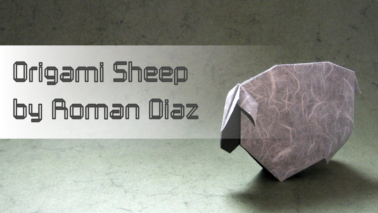 Origami Instructions Sheep Roman Diaz