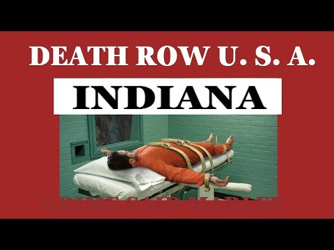 DEATH ROW U.S.A. 2017 # INDIANA - 10 MALE INMATES