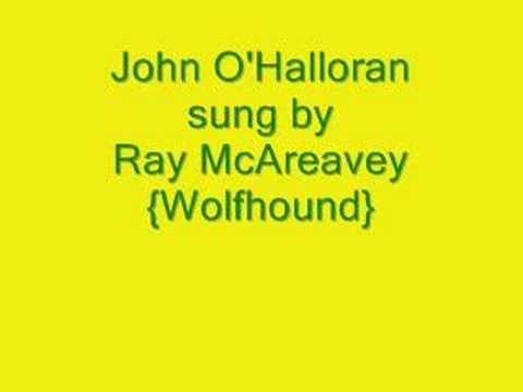 John O'Halloran - Ray McAreavey- wolfhound