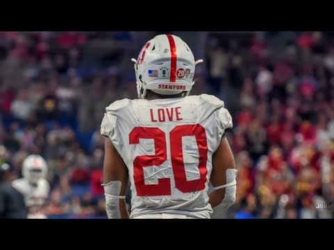 Fastest RB in College Football || Stanford RB Bryce Love Hig