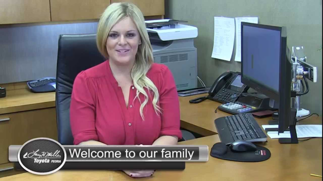 Larry Miller Toyota >> Meet our Customer Retention Manager! | Larry H. Miller Toyota Peoria - YouTube