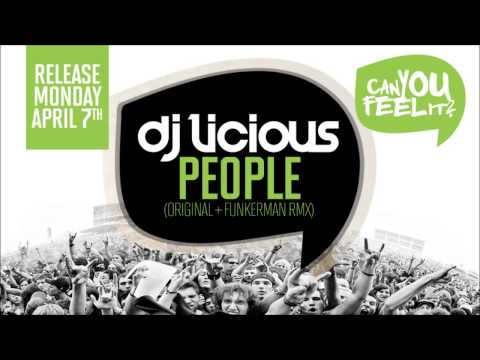 DJ Licious - People (Funkerman Remix) (Preview)
