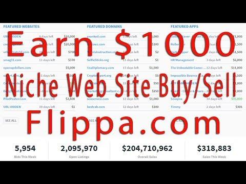 $ 1000 Earn Niche Web Site Buy/Sell flippa.com # Contact: 01764608434