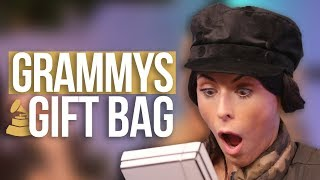 Opening the $30,000 GRAMMYS GIFT BAG!! (Beauty Break)